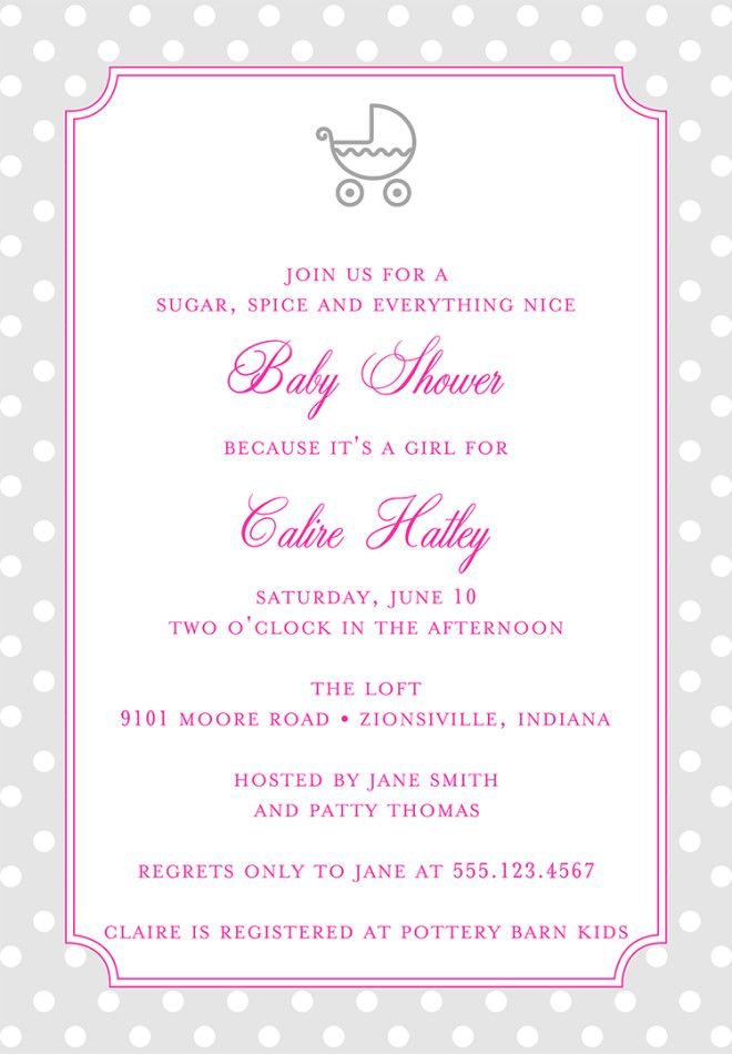 Baby Shower Invitation Wording To Welcome The Wee One Into The World  How To Word Baby Shower Invitations