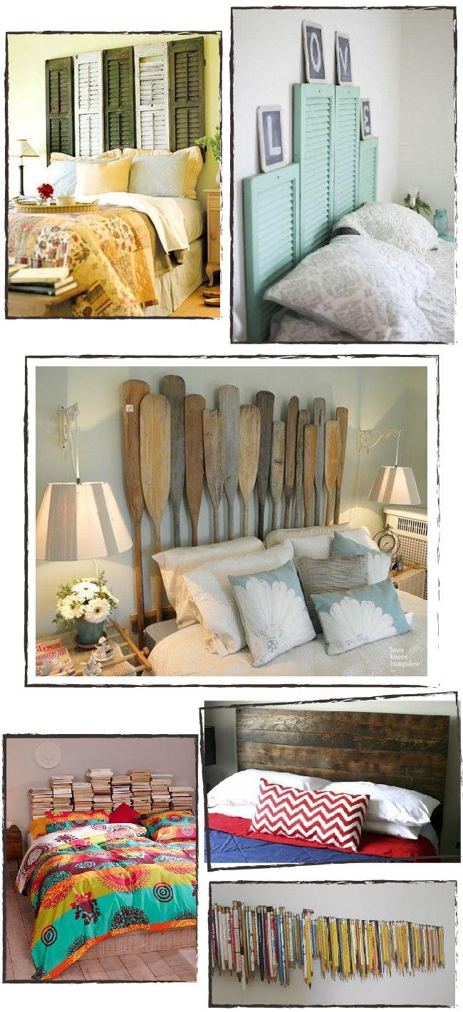 Dare to DIY: Inspiración: redecora tu dormitorio con un cabecero DIY