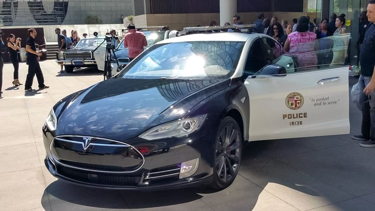 Tesla model s by Michael Ars on LAPD Tesla, Police cars