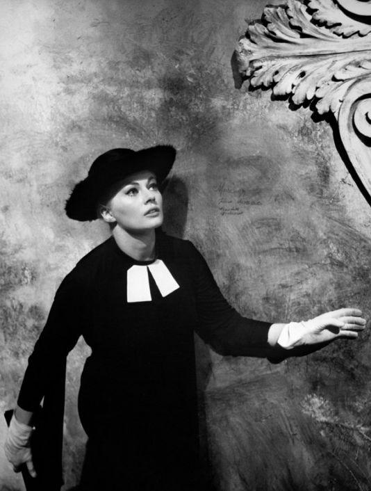 Anita Ekberg in 'La Dolce Vita', 1960, Federico Fellini.