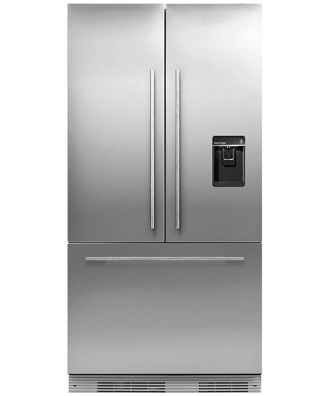 RS90AU1 - ActiveSmart™ Fridge 900mm French Door Slide-in with Ice & Water – Stainless Steel - 24294