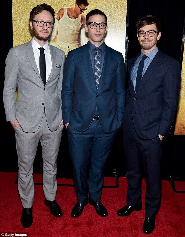 The boys: Akiva Schaffer, 38, who plays Lawrence and Jorma Taccone, 39, who plays Owen, al...