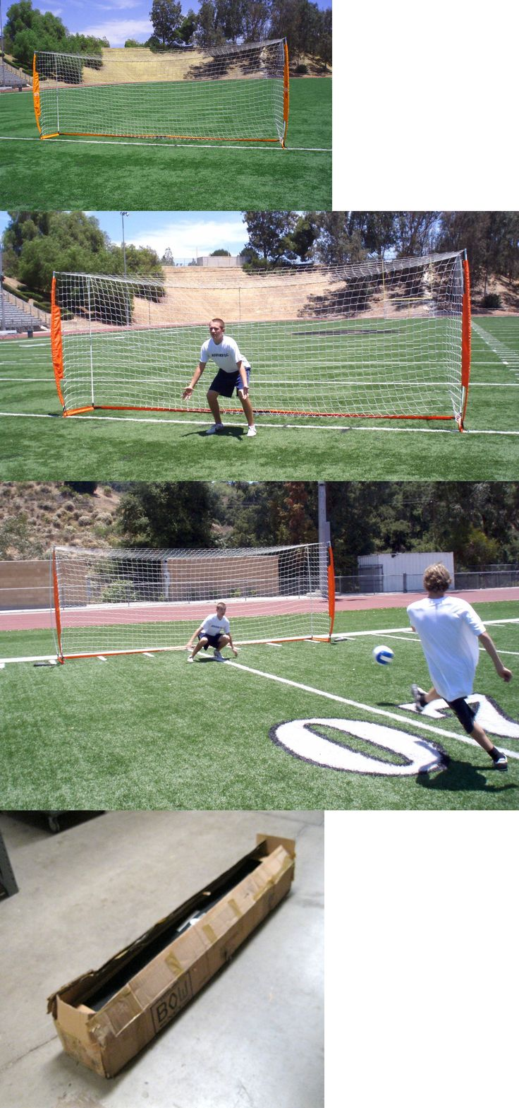 Goals and Nets 159180: Bownet 6 6 X 18 6 Portable Soccer Goal - New -> BUY IT NOW ONLY: $240 on eBay!