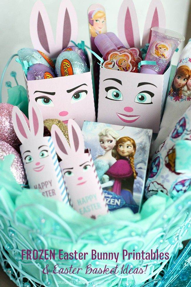 I created these FROZEN Easter Bunny Printables for my kids and I CAN NOT wait to see their faces Easter morning! They're going to LOVE it!