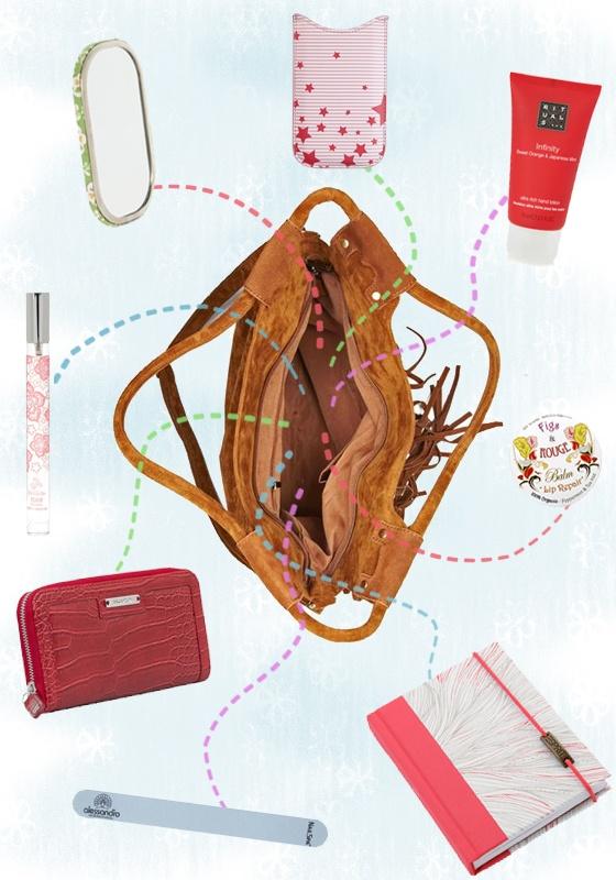 What's in your lovely handbag? - Girlz.nl