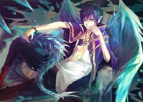 Gray Fullbuster as an Ice Demon from Fairy Tail