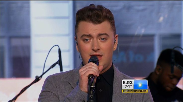 "Sam Smith Performs ""Stay With Me"" on Good Morning America 