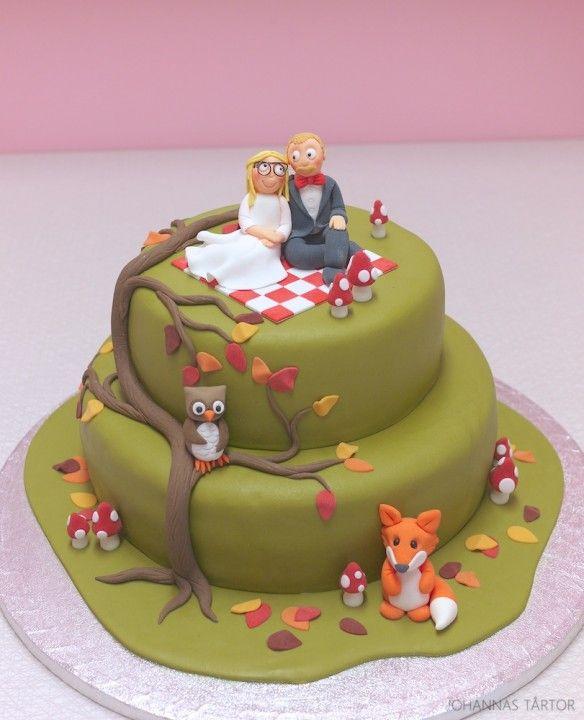 Bröllopstårta - Johannas tårtor