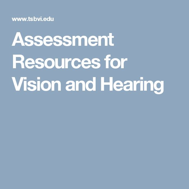 Best Vision Evaluations  Learning Media Assessment Images On