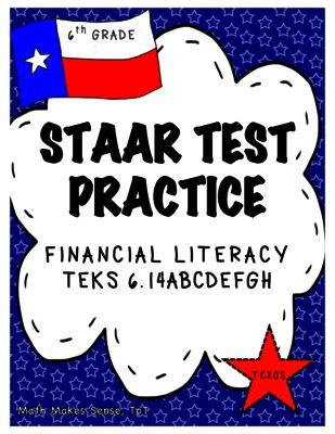 Staar test, Financial literacy and Grade 6 math on Pinterest