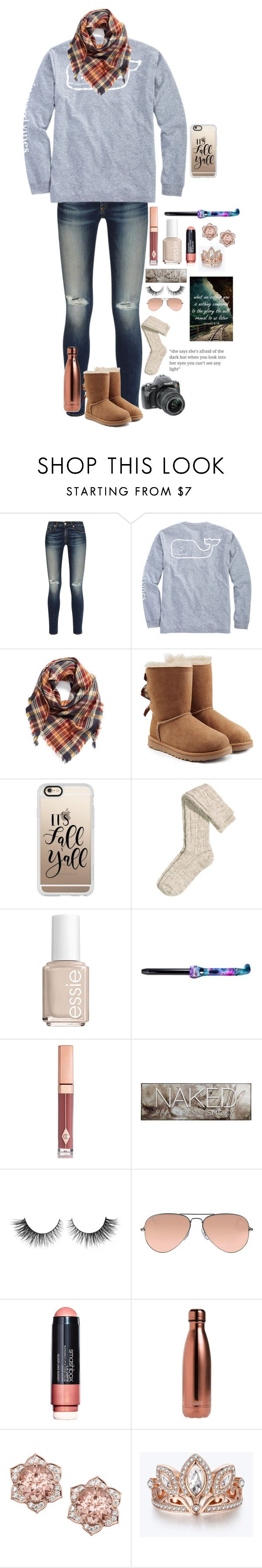 """""""Romans 8:18"""" by maxilicious ❤ liked on Polyvore featuring rag & bone, Vineyard Vines, BP., UGG, Casetify, H&M, Essie, Eva NYC, Charlotte Tilbury and Urban Decay"""
