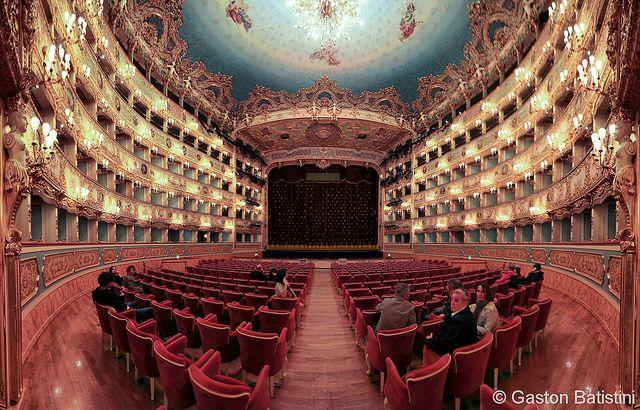 Teatro La Fenice, Venezia, Italia by Batistini Gaston, via Flickr