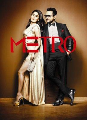 Kareena Kapoor and Saif Ali Khan for Metro Footwear