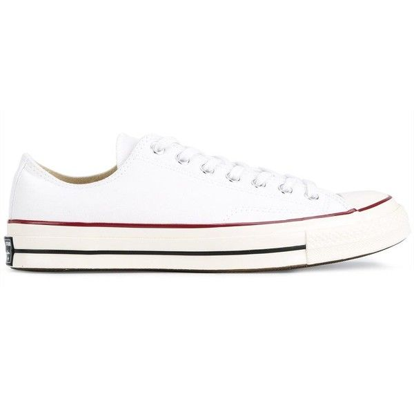 Converse 'All Star' sneakers ($67) ❤ liked on Polyvore featuring men's fashion, men's shoes, men's sneakers, white, converse mens sneakers, g star mens shoes, mens white sneakers, mens white shoes and converse mens shoes