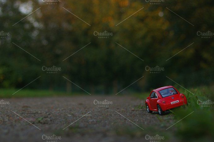Beetle in the country by tabby on @creativemarket