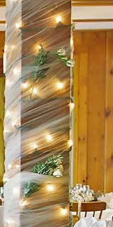 25 Best Ideas About Tulle Lights On Pinterest Head