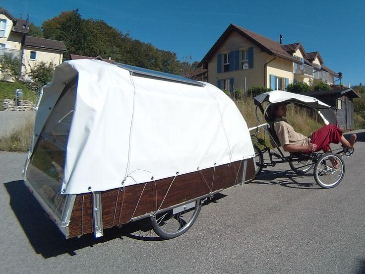 267 Best Bike Camper Images On Pinterest Bicycle Teardrop