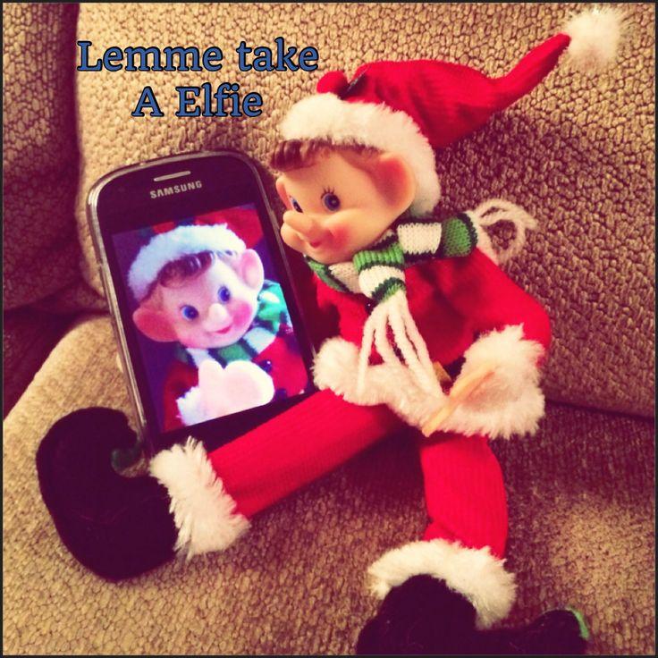 Lemme take a Elfie