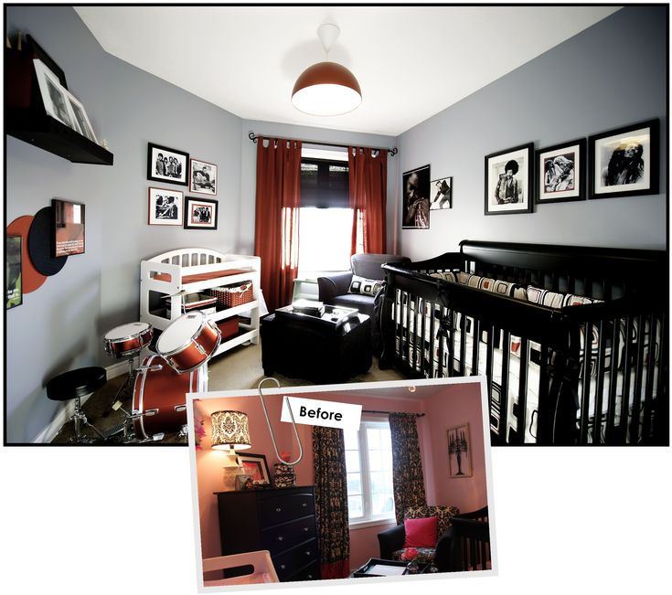 Rock Star Baby Room A Little To Busy But I Like The