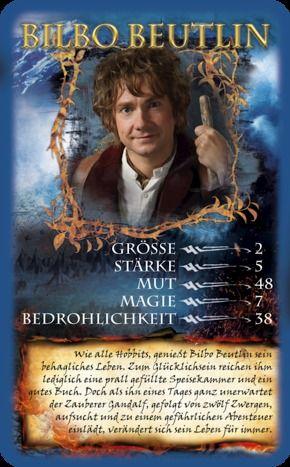 Top Trumps - Der Hobbit - Smaugs Einöde #toptrumps #hobbit #smaug