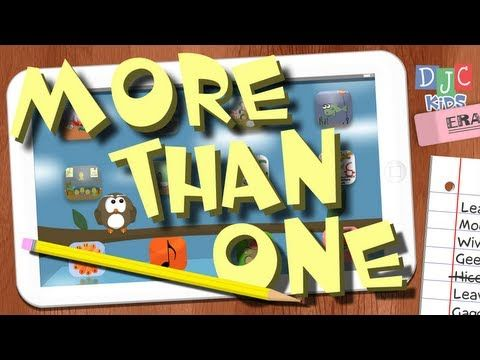"If mouse becomes mice then can house become hice?! ""More than One - Fun Plurals Song for Kids"" teaches kids what happens to words in English when we have more than one of something.    DJC Kids features nursery rhymes, children songs, and animated stories perfect for kids! Watch our videos and read our books for fun education, music, and activitie..."