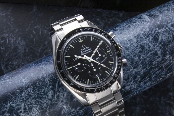 Omega Speedmaster Professional. I find it astonishing to think that although delivered to the UK in January 1973 this watch was actually being manufactured whilst the last Apollo mission was taking place in December 1972 With extract from the omega archives to confirm that this watch is as it left the factory ,original 861 movement ,case ,case back ,bracelet …