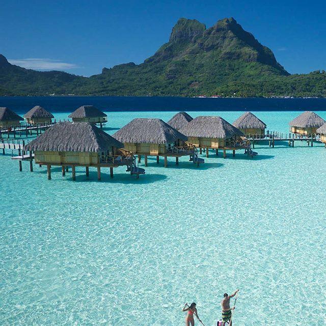 Бора-Бора | Французская Полинезия. Ставь лайк Комментируй Подпишись☑ Бора-Бора — остров расположенный в Полинезии, который заслужил репутацию самого красивого и романтичного места на планете. Высокопарное название «рай на земле» вполне подходит к этому острову. Недаром влюбленные и молодожены так часто выбирают путешествие⛺ на Бора-Бора. Обстановка, царящая на острове, способствует полному проявлению взаимных чувств романтически настроенных людей. Здесь, в окружении потряса...