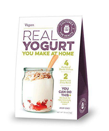 Vegan Yogurt Starter - http://mygourmetgifts.com/vegan-yogurt-starter/