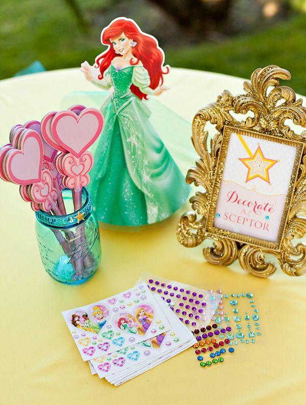 Işıltılı Disney Prenses Rüya Parti {+ Ücretsiz Printables}