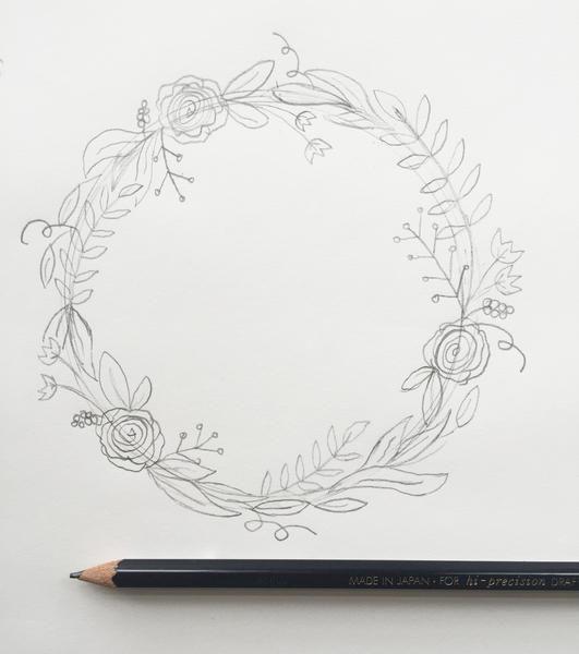 Blumenkranz Anleitung Bild Von Marie Leifheit Auf Malen In 2020