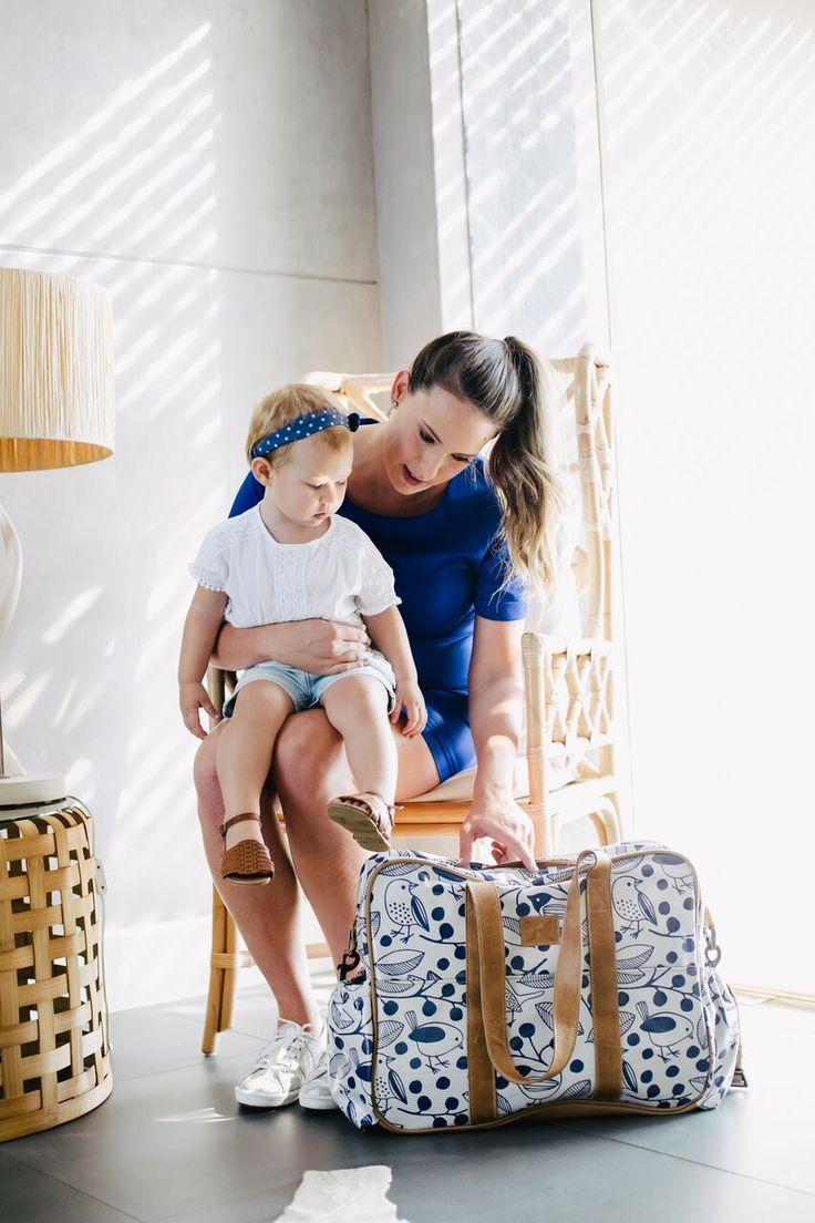 Toddler Bag -Chatter Carbon on Linen