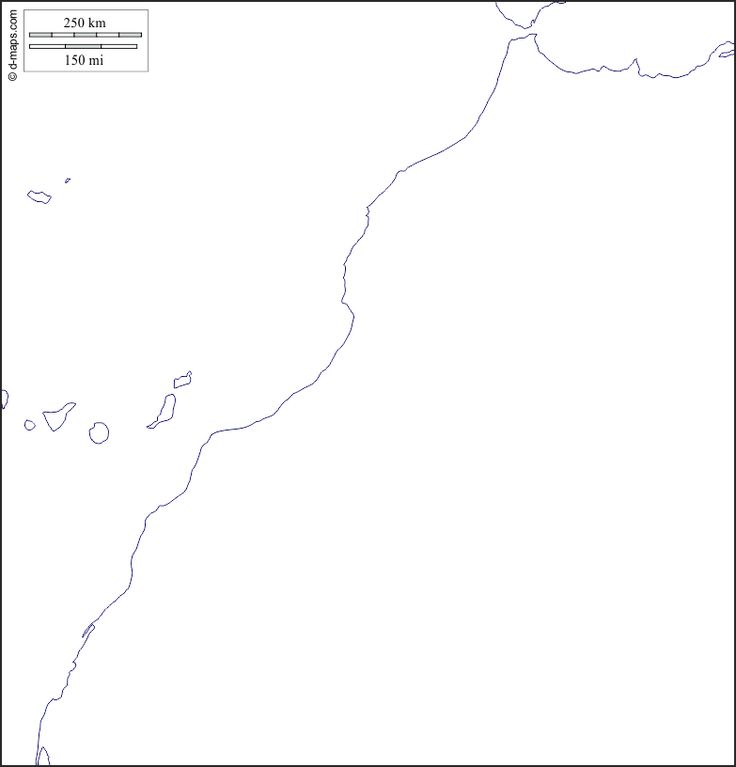 مجموعة خرائط صماء للمملكة المغربية العربية مع الصحراء الغربية المعرفة الجغرافية كتب ومقالات في جميع فروع الجغرافيا Map Math