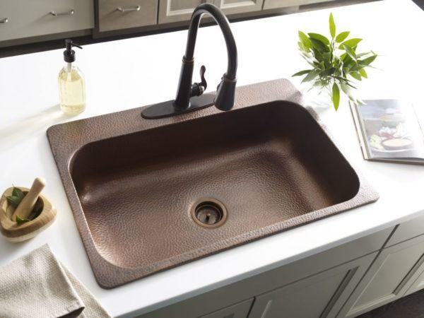 Top 5 Kitchen Sink Materials Best Kitchen Sinks Copper Kitchen Sink Kitchen Sink Remodel