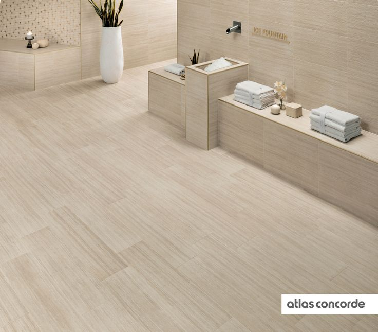 #SUNROCK travertino almond | #AtlasConcorde | #Tiles | #Ceramic | #PorcelainTiles