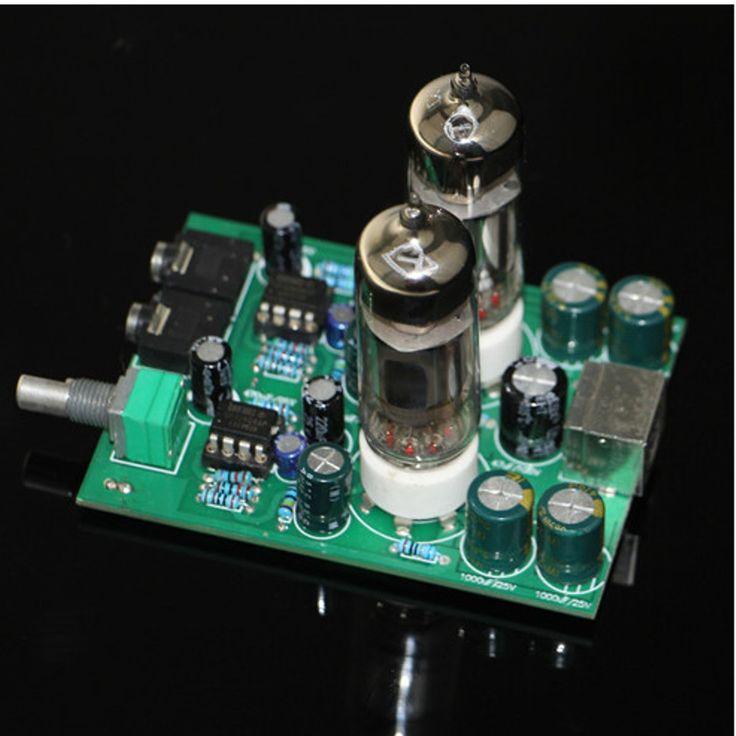6J5 Klasse A Vakuumröhrchen Puffer Kopfhörer Vorverstärker HiFi Kopfhörer Verstärker Vorverstärker