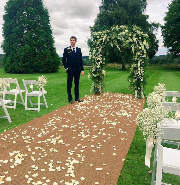 Jim and Tanya's wedding is my literal goals.