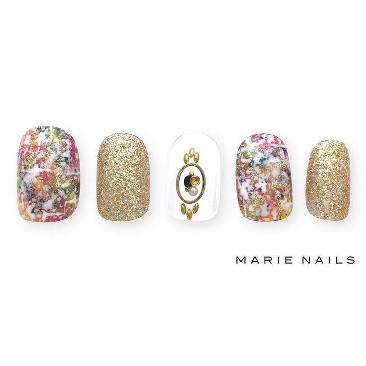 #マリーネイルズ #marienails #ネイルデザイン #かわいい #ネイル #kawaii #kyoto #ジェルネイル#trend #nail #toocute #pretty #nails #ファッション #naildesign #awsome #beautiful #nailart #tokyo #fashion #ootd #nailist #ネイリスト #ショートネイル #gelnails #instanails #newnail #cool #gold #tweed