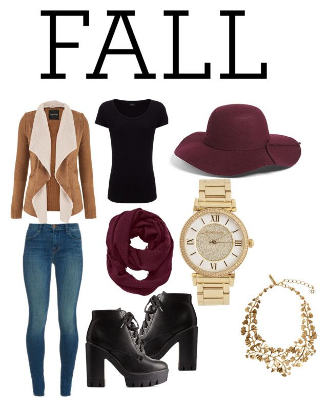 Fall in love.. by juliannacortes on Polyvore featuring polyvore, fashion, style, Joseph, maurices, J Brand, Charlotte Russe, Michael Kors, Oscar de la Renta, Leith and Athleta