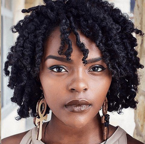311 best Short  Medium Natural Hair Styles images on Pinterest  African hairstyles Hair dos