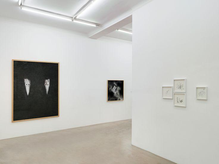 Installation View, Drop me a line, Davig Miguel, Celine Nieszawer, NextLevel Galerie, 2014, Photo: F. Kleinefenn