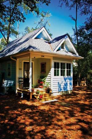 One of my favorite tiny houses-- the Harbinger at Tumbleweed Tiny House Company.