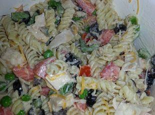 Ranch Chicken Pasta Salad Recipe