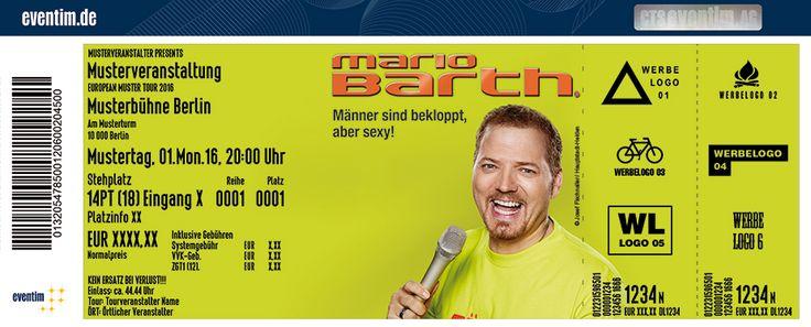 """Erleben Sie Weltrekordhalter Mario Barth live mit seiner neuen Show """"Männer sind bekloppt, aber sexy!"""""""
