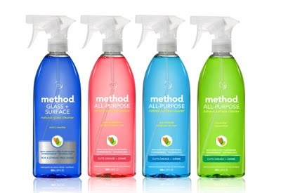 My favorite way to clean! Method Cleaner - It's non-toxic and plant based......and smells good, too!