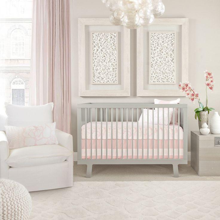Oilou0027s Capri Crib Set U2013 Blush Pink. Nursery Design. Baby Girl.