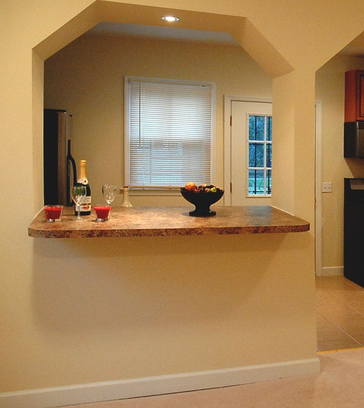 Best 25 breakfast bar table ideas on pinterest kitchen for Kitchen wall island
