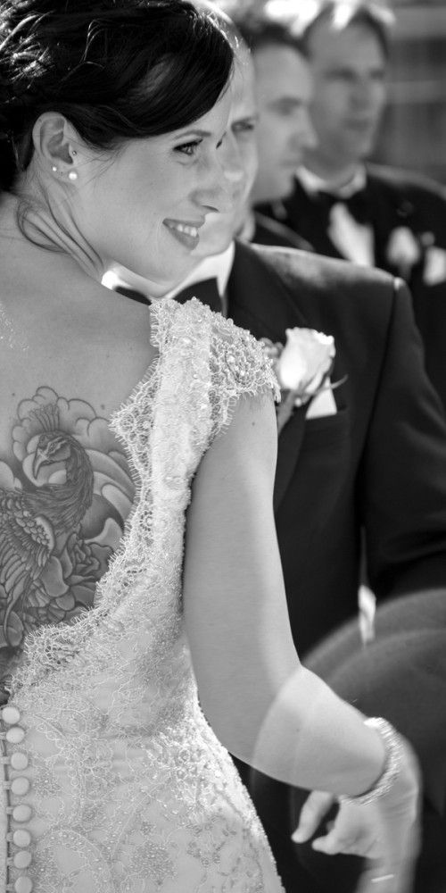 Jess on her wedding day - Agent 86 Photography