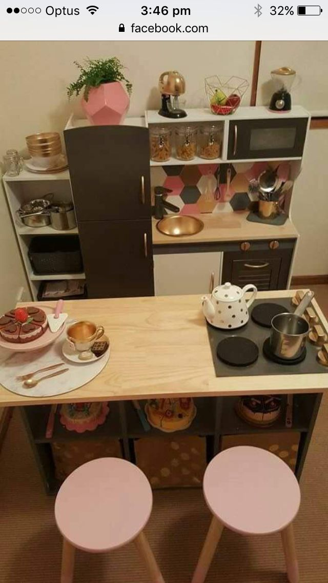 Kids kitchen hack, so beautiful!