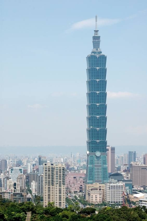 Taipei Taiwan. Love visiting this wonderful cosmopolitan city. In particular, Taipei 101 - what used to be the tallest building in the world.