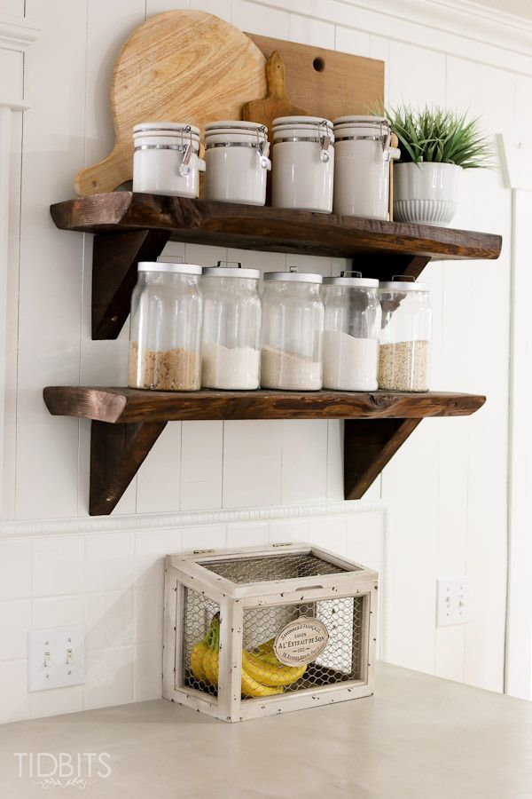 Kitchen open shelving 153 best DIY